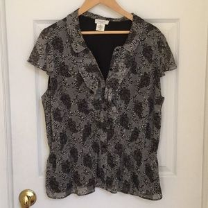 Fun Kate Hill Blouse with Peplum